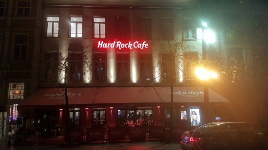 Hard Rock Cafe Antwerp: esterno