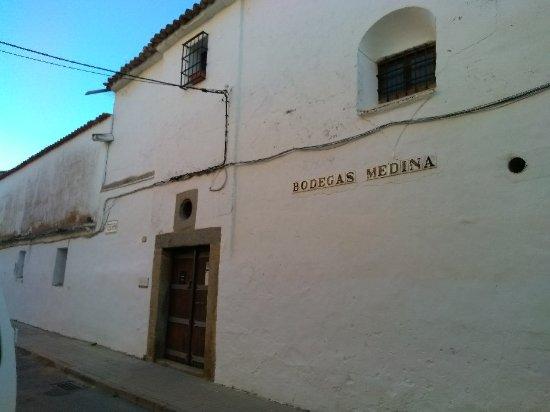 Zafra, Spanyol: Bodegas Medina