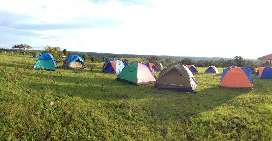 Sen Monorom, Kambodża: Community camping