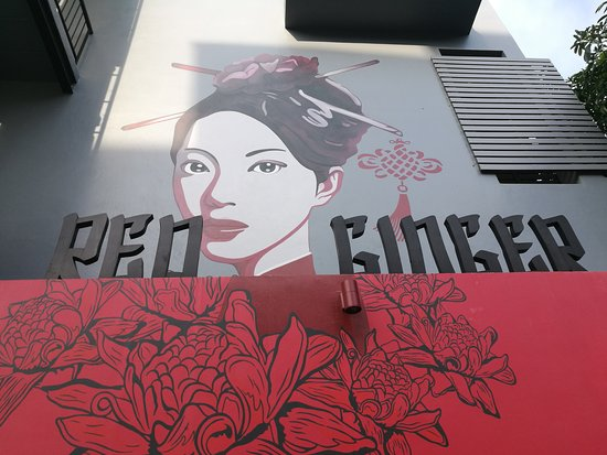 Red Ginger Chic Resort: Entrance Area