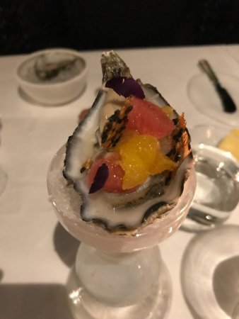 Vreeland, เนเธอร์แลนด์: 8 course menu with the optional oyster starter!