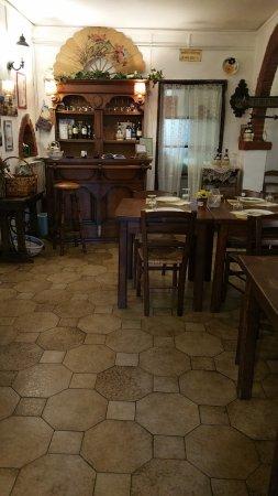 Ponzano Romano, Italia: saletta altra vista