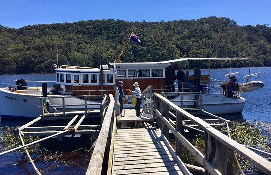 Corinna, Australia: Acradia 2 Vessel