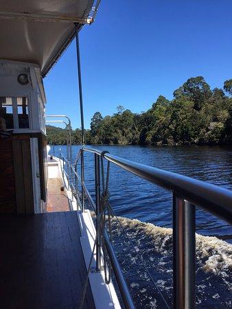 Corinna, Australia: View from deck