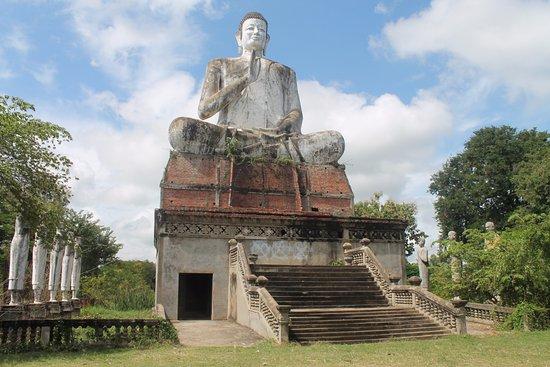Battambang, Cambodia: Budda gigantesco...