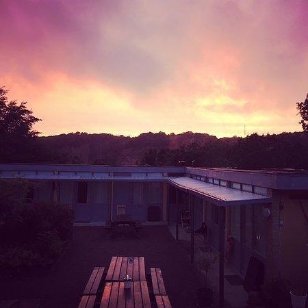 Sandvig, Denmark: Den smukkeste solnedgang