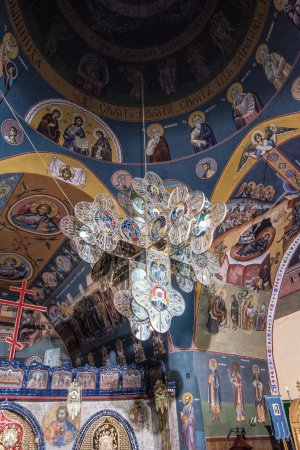 Hajnowka, Poland: Ażurowy krzyż