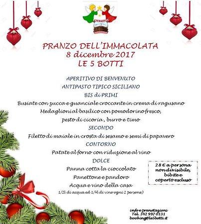 Santa Venerina, Italia: Pranzo immacolata 2017