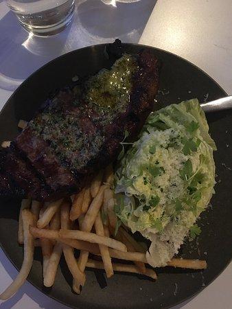 Mollymook, Australia: Delicious steak