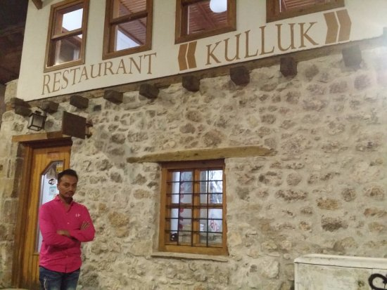Restaurant Kulluk: by the restaurant