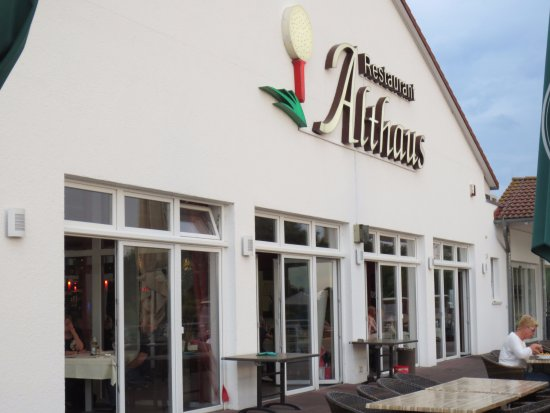 Gernsheim, Tyskland: Restaurant Althaus am Golfplatz