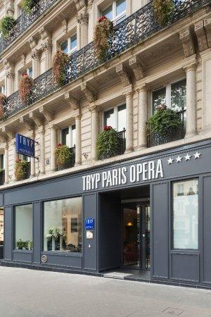 Facade Photo De Hotel Paris Op Ra By Meli Paris