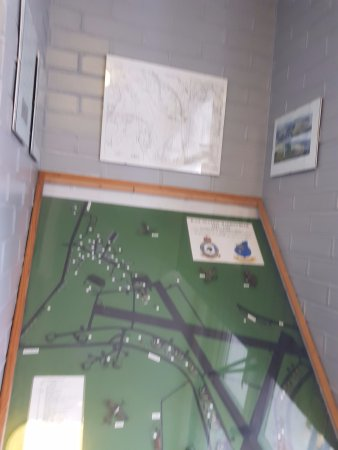 Yelverton, UK: Map of the cafe / aerodrome.