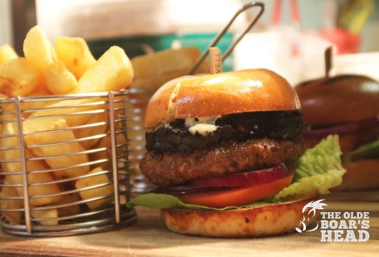 Middleton, UK: Black and Blu Burger