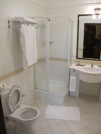 Grand Hotel Tien-Shan : My bathroom