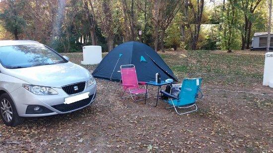 Cazalla de la Sierra, Spain: zona de acampada