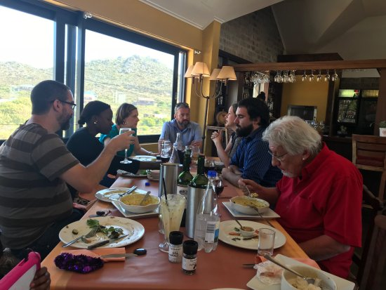 Pringle Bay, South Africa: Family lunch