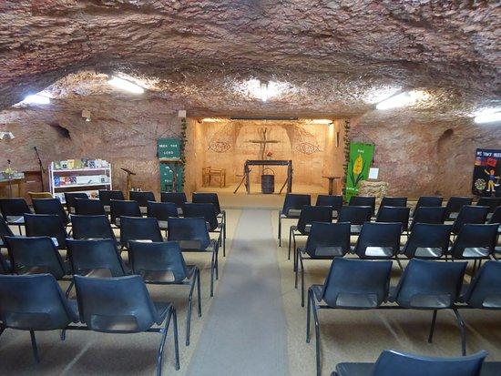 Catacomb Church : Worship area