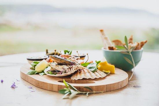 Widemouth Bay, UK: Seafood