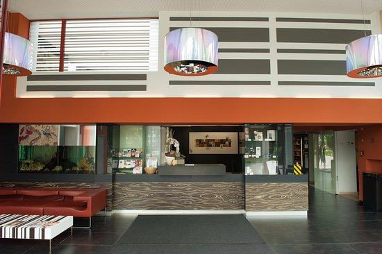 Hotel Maxlhaid: Rezeption