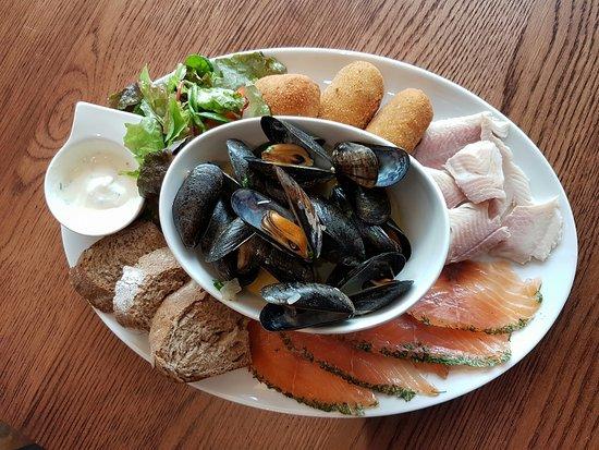 Braunton, UK: Seafood Platter