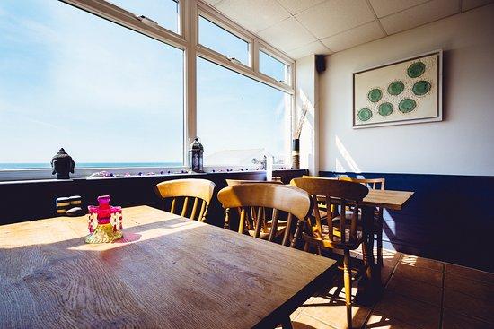 Widemouth Bay, UK: Dining area