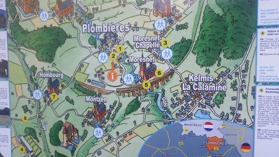 Ваальс, Нидерланды: Mappa della zona