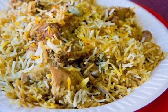 Burdwan, Indien: Special Arabic Biryani