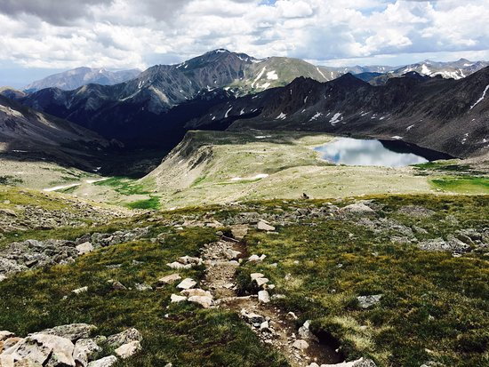 Buena Vista, CO: lake near the top of the hike