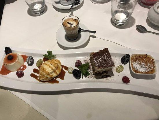 Ebersberg, Tyskland: gemischte Desserts