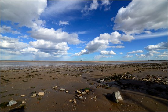 Cleethorpes, UK: Haile sand fort at the Fitties, Humberston, Lincolnshire, 2017