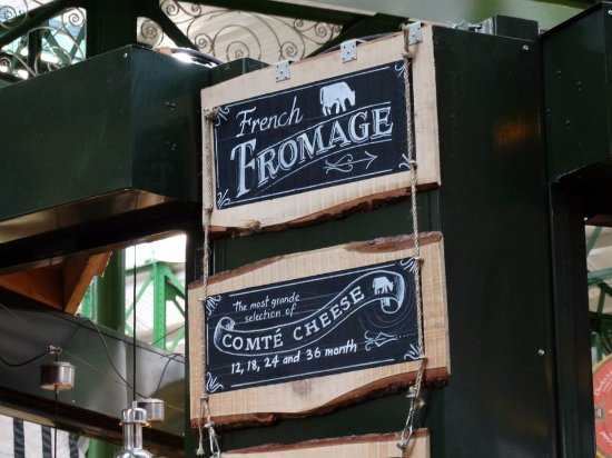 Borough Market: French fromage
