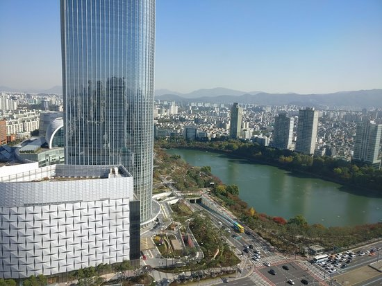 Lotte Hotel World: Morning view