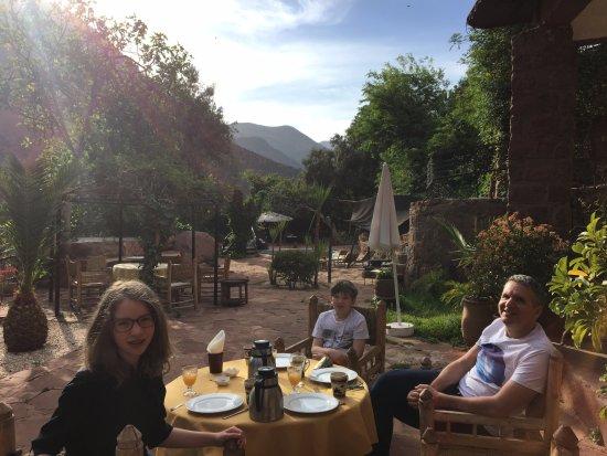 Ourika Garden: Breakfast