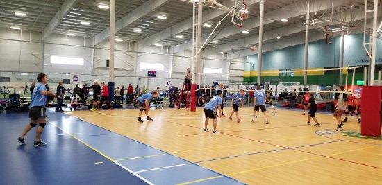 Taunton, MA: Indoor Volleyball Courts
