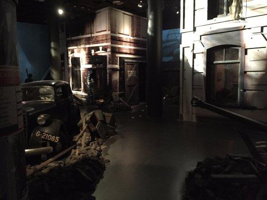 Oosterbeek, Holland: Diorama Arnhemse straat