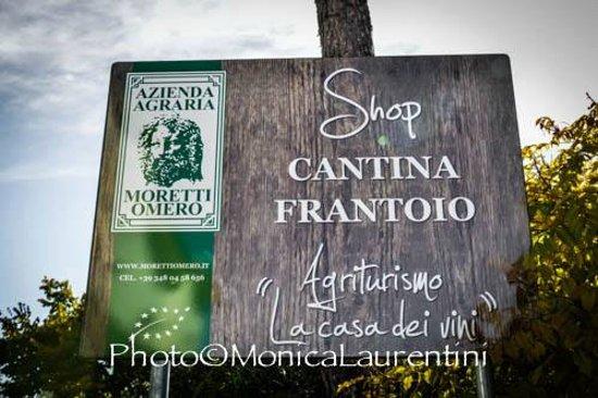Giano dell'Umbria, Italia: L'INSEGNA DEL FRANTOIO-CANTINA