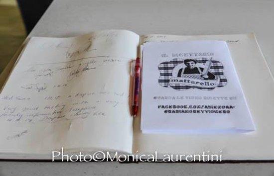Giano dell'Umbria, Italia: IL LIBRO DELLE RICETTE DELLA NONNA