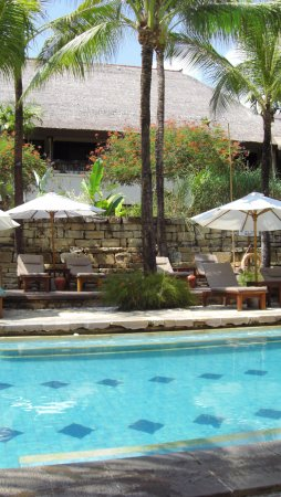 Novotel Bali Benoa : piscine seconde partie de l,hotel