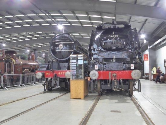 Rushyford, UK: Shildon Railway Museum