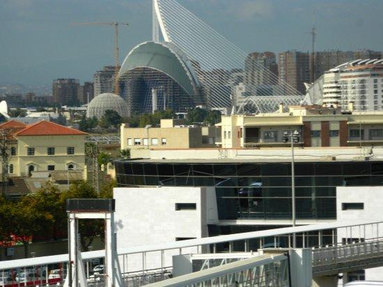 Puerto de Valencia: Valencia dalla nave