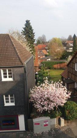Rheda-Wiedenbruck, Alemania: Ausblick vom Badezimmer