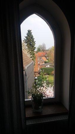 Rheda-Wiedenbruck, Alemania: Zimmer mit Aussicht (Bad)