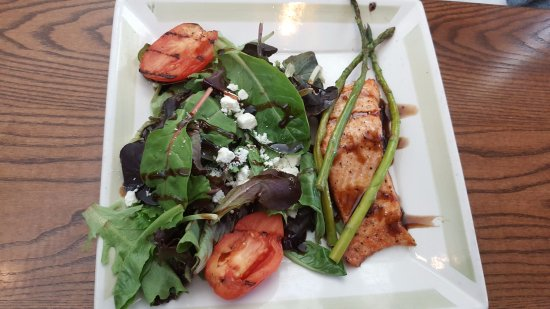 Biddeford, ME: Balsamic Salmon 11/11/17 - excellent!