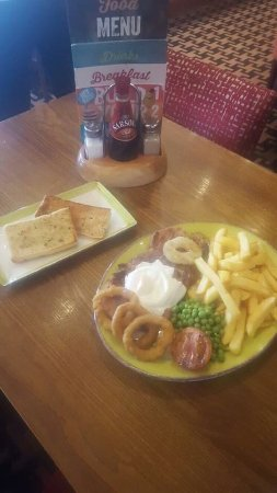 Wrekin Giant : Thursday deal any big plate special includes either a free starter or a free pudding....remember