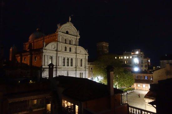 Hotel  Fontana: vue de la terrasse