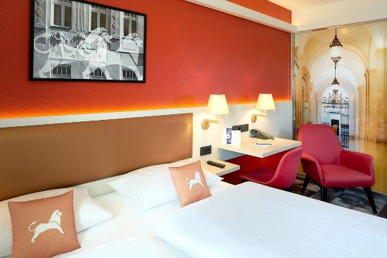 Best Western Hotel Leipzig City Center: Standardzimmer mit moderner Ausstattung