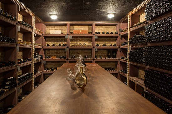 Lea Linster: cave a vin