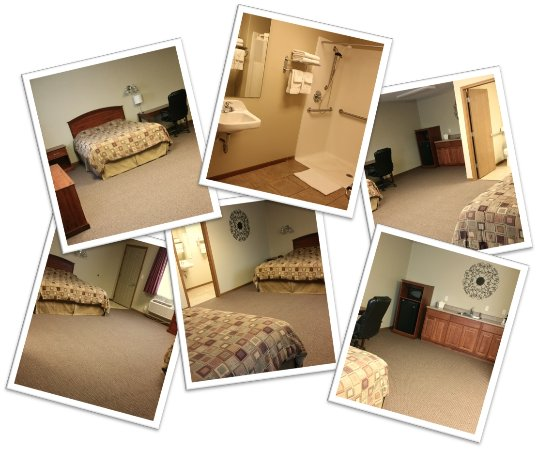Cimarron, KS: Suite Room - 1 x Queen Size Bed & 1 King Size Bed