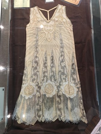 Butler County History Center and Kansas Oil Museum: A dress in their collection